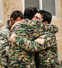 Kurdish YPG Fighters (Kurdishstruggle) Tags: ypgkurdistan ypg sdf ypgforces ypgrojava ypgkämpfer ypgfighters yekineyênparastinagel war warphotography heroes resistancefighters afrin efrin revolutionary rojava rojavayekurdistan struggle westernkurdistan pyd syriakurds syrianwar kurdssyria comrades kurd kurdish kurden kurdistan kurds soldiers kurdishforces syria kurdishmilitary militarymen kurdishfighters freiheitskämpfer liberty freedomfighters fighters kurdishfreedomfighters