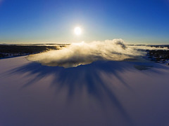 Changeable (Matt Champlin) Tags: weather cold morning sunrise lake frozen skaneateles flx drone aerial dji fingerlakes peace peaceful clouds ice arctic winter 2018