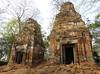 Koh Ker - Prasat Pram (Bogdan J.S.) Tags: azja asia kambodża cambodia kohker świątynia temple prasatpram ruiny ruins remains dziedzictwo heritage historia history kultura culture