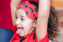 Luana Lady Bug (Fippo Gomes) Tags: 2018 aniversáriodalunaabirthday canon sl1 smileonsaturday mask