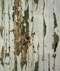 Garage, Port William (Alistair-Hamilton) Tags: portwilliam paint rust flaking garage door fromthewood corrugation