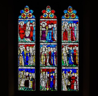 The Nine Orders of Angels Window