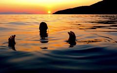 tris (poludziber1) Tags: skyline summer sky sea sunset colorful color colorfull sardinia orange people silhouette travel italia italy matchpointwinner mpt607