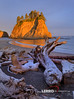 West Coast Beach (Lerro Photography) Tags: rockface rock driftwood beach shore coast seaside dusk evening cliff