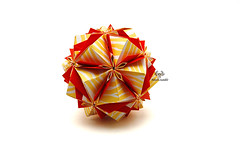 Bjork (Akizhi) Tags: origami kusudama modular paper art craft folding