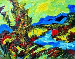 Textured Landscape. (Steve.D.Hammond.) Tags: textured landscape