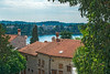 Harbour View (fotofrysk) Tags: rovinjharbour harbour view trees hills clouds trgofchurchofsteuphemia buildings architecture easterneuropetrip croatia rovinj istria dalmatiancoast afsnikkor703004556g nikond7100