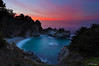 Slice of Heaven (Omnitrigger) Tags: mcwayfalls waterfall sunrise pacific cove bigsur