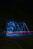 Ray Of Light (mlomax1) Tags: 80d building canoneos80d eos80d architecture canon cloud dark lights night nightshoot outdoor reflection bridge bluebridge rayoflight trail lighttrail jubileebridge queensferry wales cymru welsh flintshire