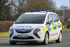 NU63 JXA (S11 AUN) Tags: cleveland police vauxhall zafira tourer dog section policedogs dogsupportunit dsu response van nu63jxa