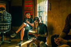 Replica Jesus (carlwoodland) Tags: music band guitar studio recording