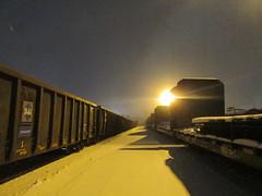(Railroad Rat) Tags: northern ontario canada winter freight train railroad snow moniker art graffiti culture hobo trackside shortline cn tanker coil car boxcar forest cabin mountain