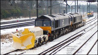 1Z99 66422 + 66434 with a pair of ZZA Beilhack snowploughs at Holgate