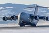 SAC 01 NATO Strategic Airlift Capability Boeing C-17A Globemaster III - cn F-207 (Otertryne2010) Tags: 2018 2k18 boeing enva norge norway trd trondheim værnes nato sac strategic airlift capability c17a globemaster takeoff beaconshot