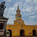 Clocktower & Statue, Cartagena Colombia