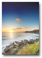 Le jour et la nuit (lp_alain) Tags: nikon ngc night nuit nightshoot sky sunset seascape bretagne brest brittany bzh beautiful beach plouzané petitminou d7000