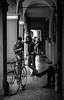 La Combriccola (damar47) Tags: streetstyle streetphotography streetlife monochrome monochromatic blackwhite biancoenero blackandwhite bnw urban bologna italy italian italia viadelpratello citycenter citylife strangers pentax pentaxart k30