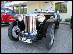 MG TC, 1945 (v8dub) Tags: mg t c 1945 schweiz suisse switzerland bleienbach british roadster pkw voiture car wagen worldcars auto automobile automotive old oldtimer oldcar klassik classic collector