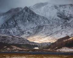 Coulin Estate, Loch Clair, Wester Ross (svensl) Tags: beinn eighe torridon wester ross clair liathach scotland schottland scottish winter snow highlands north west