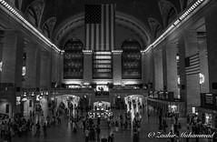Grand Central (Zaahir Muhammad) Tags: grandcentral nyc trains masstransit terminal nikon bnwphotography streetphotography mta