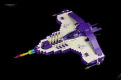 Striker SF21 Einhorn (stephann001) Tags: space lego fighter vic viper