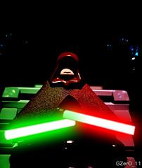 · THE GREY JEDI · (GZer0_11) Tags: lego custom star wars grey jedi sith code hood decal republic rebels empire emperor lord gontar zalok
