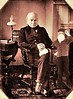 John Quincy Adams was the first president to be photographed. This was 1843. (Fotofricassee) Tags: practicaljoke sin photobomb gum bubble adams quincy john