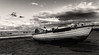 Ricordi d'estate (SDB79) Tags: biancoenero barca mare spiaggia nuvole paesaggio marino costa vasto abruzzo riva