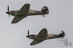 Hawker Hurricane Mk.IIb LF363 (Newdawn images) Tags: hawkerhurricanemkiiblf363 hawker hurricane mkiib lf363 spitfire p7350 battleofbritainmemorialflight bbmf raf royalairforce classic vintage aviation aircraft airplane aeroplane airshow airdisplay plane riat riat2017 raffairford canoneos6d canonef500mmf4lisusm