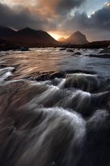 The Unexpected (DBPhotographe) Tags: scotland uk skye cuillins marsco sligachan united kingdom river mountain sunrise ray light nisi filters long exposure