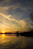 "tramonto ""! (paolotrapella) Tags: sunset tramonto water sky clouds nuvole cielo"