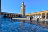 The New Modern Minaret of Zaitouna (taharaja) Tags: aquaductmosaic carthage colloseum doors eldjem fatemid fort harbour hotsprings jamealakabibinnafae kairaoun kasbah maghreb mahdia masjod minaret montasir mosque port qayrawan qibla roman rabat sousse tiles tunisia tunis gouvernoratdetunis