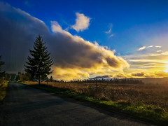 Cloud Drama (Colormaniac too - Many thanks for your visits!) Tags: clouds cloudscape sky skyscape landscape sunset dusk rainclouds nature weather sequim olympicpeninsula washingtonstate pacificnorthwest topazstudio