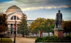 Joseph Henry Statue across from Museum of Natural History (Steve Holsonback) Tags: smithsonian joseph henry museum natural history washington dc national mall
