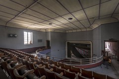 Art Deco Theatre (Camera_Shy.) Tags: derelict theatre abandoned disused old urban exploration