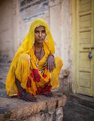 India (mokyphotography) Tags: india rajasthan jasalmer fortezza donna woman portrait people persone ritratto canon viaggio travel