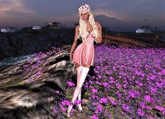 "✧♪●♩○♬""Wild Flower""♬○♩●♪✧ The Cult~ [Monso] & =ZENITH= @ C88 (SherriOhCherri) Tags: monso zenith collabor88 candydoll lode catwa maitreya flowers music thecult fashion secondlifeblog secondlifefashion"
