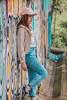 Arci (Laura Daniela Ruiz.) Tags: street art graffiti urbanstyle urban urbanclothing urbanfashion vans classic canon portrait redhead beauty