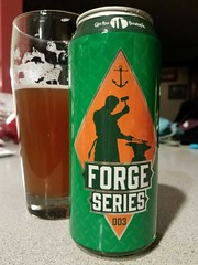 Forge Series #3 (Pak T) Tags: forge series 3 newengland ipa capeannbrewing gloucester massachusetts can glass beer alcohol beerporn beverage drink samsunggalaxys7 tmobile untappd