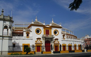 Arènes de la Real Maestranza de Caballeria de Séville (Espagne)