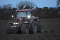 Case Puma 160 Tractor with an Amazone AD-P 303 Special Seed Drill (Shane Casey CK25) Tags: case puma 160 tractor amazone adp 303 special seed drill ladiesbridge traktori traktor trekker tracteur trator ciągnik sow sowing set setting drilling tillage till tilling plant planting crop crops cereal cereals county cork ireland irish farm farmer farming agri agriculture contractor field ground soil dirt earth dust work working horse power horsepower hp pull pulling machine machinery grow growing nikon d7200 wheat winter casenewholland cnh