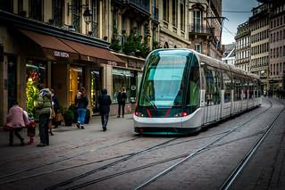 Trams in Strasbourg