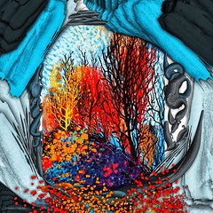 """Three Months Ago"" (donnacoburn1) Tags: se leaves public apple pencil ipadart ipadartist colour colourful metabrush apps safe brush create imagination original experimental brushes painting creative artist digitalart mobileart donnacoburn art ipadpro nature beauty fall autumn"