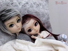 Cosy Lovers #ValentineDay (Little Queen Gaou) Tags: love couple valentine day lovers doll groove pullip taeyang cosy doux photography photographie