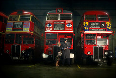 'Moving Millions' (andrew_@oxford) Tags: purfleet depot london transport ensign buses bus garage timeline events 1950s 1960s reenactment reenactors