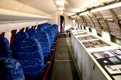 Comet 1A interior (kitmasterbloke) Tags: dehaviland museum londoncolney hertfordshire uk aviation wreck relic wr civil airliner jet comet
