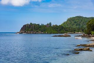 Port Glaud point Mahe Seychelles