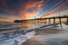 Balboa Pier (Visual Sensory) Tags: newportbeach balboapier balboapeninsula socal southerncalifornia beach sunset ocean waves sand orangecounty