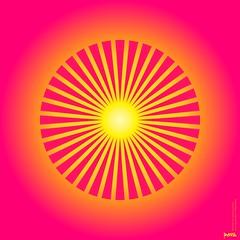 PinkGrapefruitFlowerSunStarSunOptiqueGéométrique_hipnopticoGlowProfileLineTunnelVisionPerceptualAbstraction2595 (ambientgoo) Tags: romancoppolamoviecq ghostintheshell etc…modern abstraction sublime minimal subliminal disque optique moiré orb sun star planet ambient atmosphere atmospheric scifi movie cinematic style video azulejos mosaïque mosaico mosaic retro futuristic