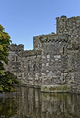 Beaumaris Castle - 5 (Patrick Cray) Tags: anglesey beaumaris cadw castle summer wales historical